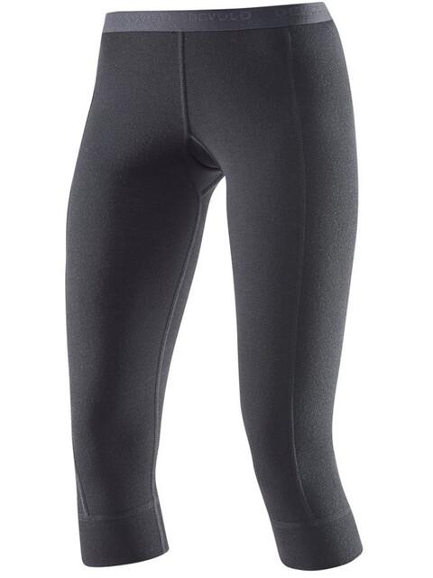 Devold Hiking Long Johns 3/4 Pants Women Black